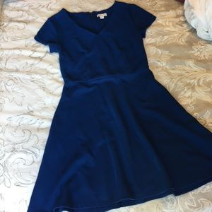 Dresses & Skirts - Cap sleeve royal dress